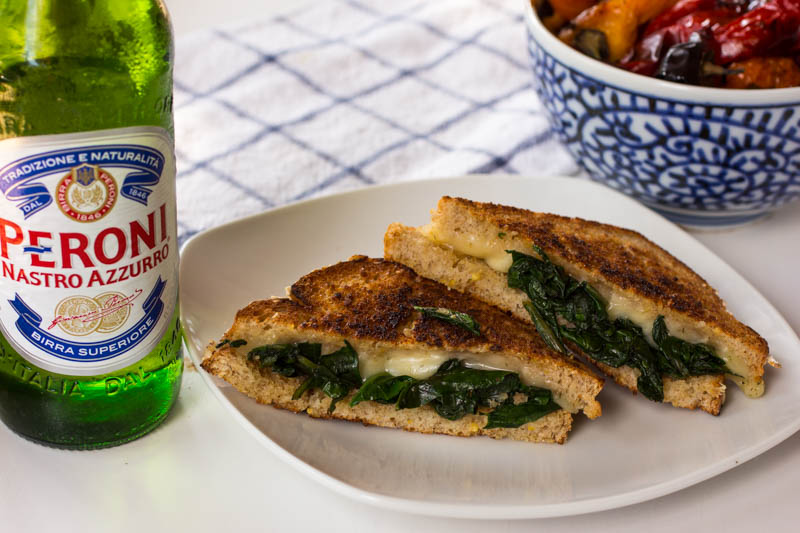 Dill Weed Grilled Cheese - Paired with Beer