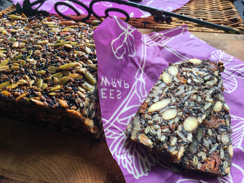 Sun-Dried Tomato Seed and Nut Bread