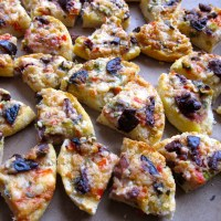 Olive Cheese Melt - Mini Pizza or Appetizer