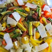 Rigatoni Primavera - Easy Pasta Dinner