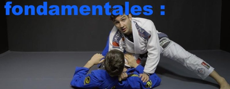 jiu jitsu knee on belly technique débutant