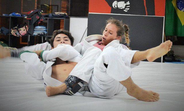 Sexy judo girl