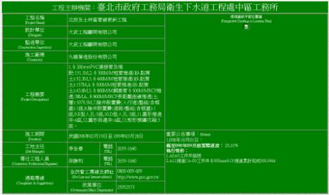 公共工程告示牌(小綠版)查詢系統 | Jiunn's mind + information collection