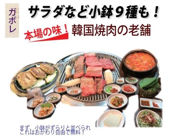 本場の韓国焼肉&韓国料理が食べられるスクムビット・プラザの「ガボレ」と「名家」