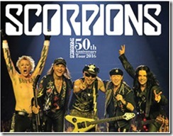Scorpions 50th Anniversary Tour 2016