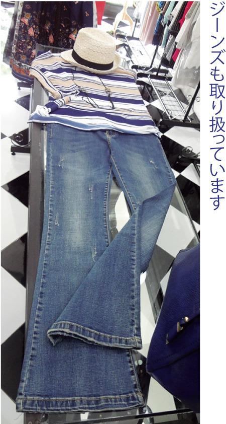 『曼谷衣料店』の日本人女性向けのカジュアル服