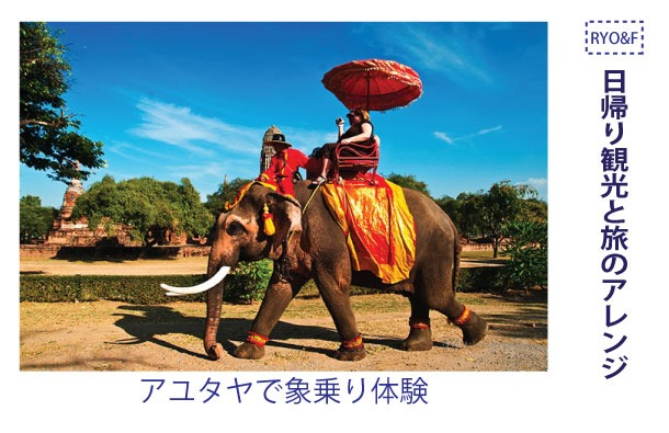 旅行会社「RYO&F旅行社」では日帰り観光と旅のアレンジ