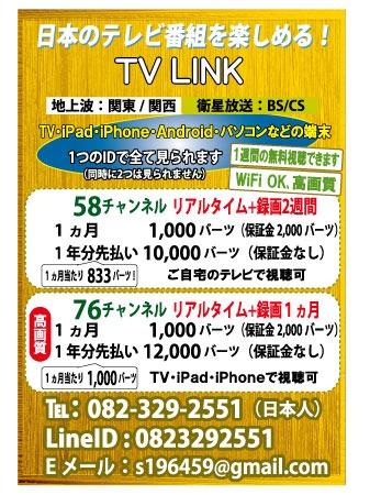 TV LINKの広告