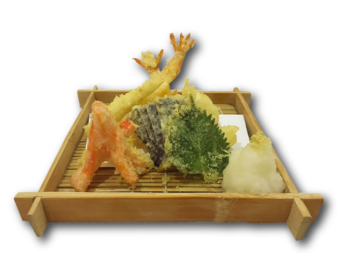 天ぷら盛り(300B)