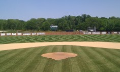 High School Baseball Field