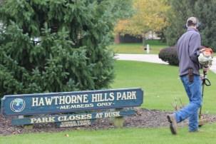 Hawthorne Hills Park Entrance