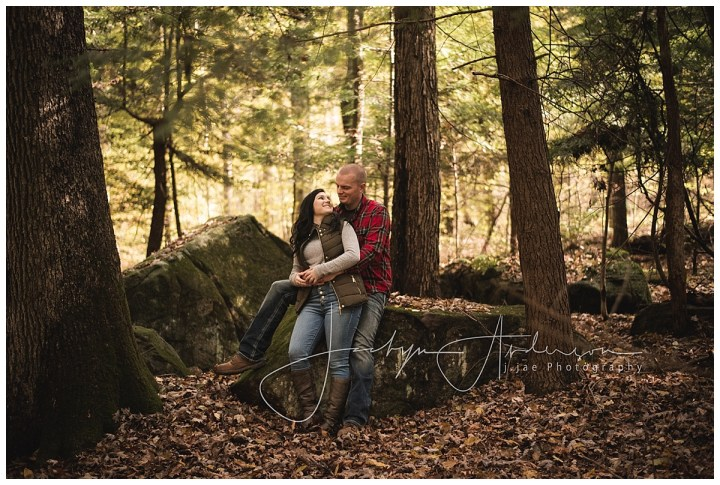 Justine + Steven   Waterfall Engagement Session, Indiana, PA   Indiana PA Photographer