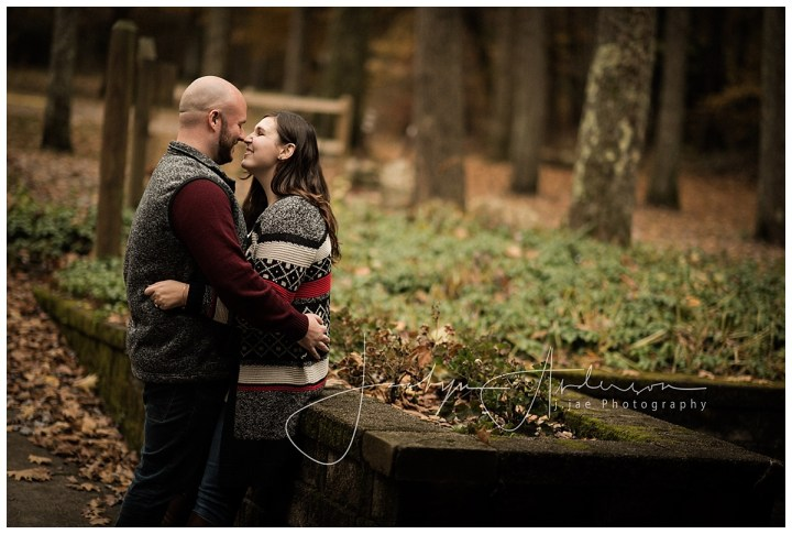 Steph + Chris   Fall Engagement Session   Indiana, PA Photographer