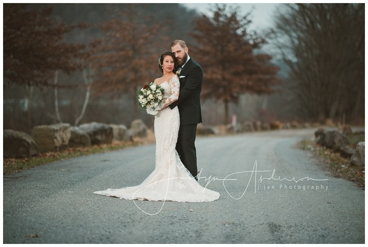Steve + Naomi   Winter Wedding in Johnstown PA   Indiana PA Photographer