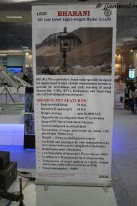 Bharani Low Level Radar Specifications