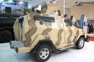 Mahindra Marksman Light bullet-proof vehicle