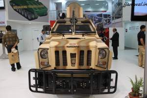Mahindra Marksman  light bulletproof vehicle