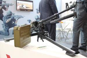 Arsenal MG-1MS 7.62x51mm machine gun on tripod