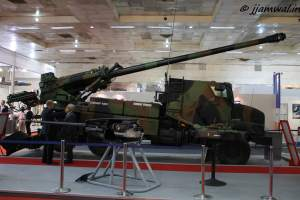 Caesar Mk2 wheeled self-propelled howitzer