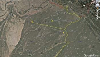 PAF Mushaf, 176 km from IB