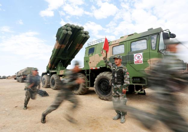 PHL-03 300mm rocket unit of 75th Group Army, Southern Theater Command.jpg