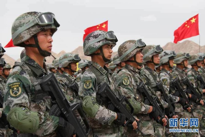 Chinese PLA ground forces
