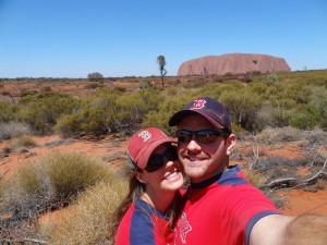 At Uluru - Ayers Rock