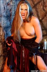 busty Aria as Vampire Slut