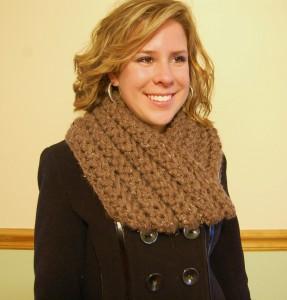 Crochet Cowl - Chunky Winter Scarf - JJCrochet