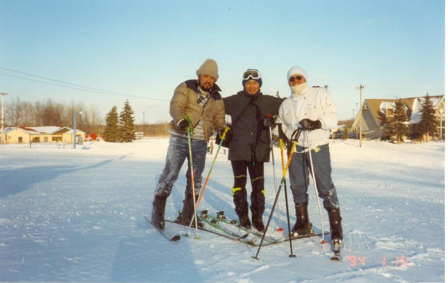 Esquiando en Michigan