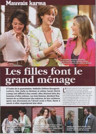 Judith Baribeau Mauvais Karma ©Téléromans 2012 page 1