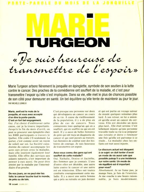 Marie Turgeon ©Lundipage1