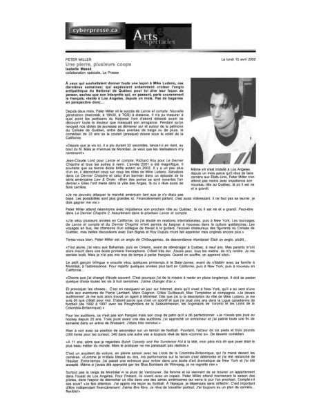 Peter Miller Dossier Presse Page30
