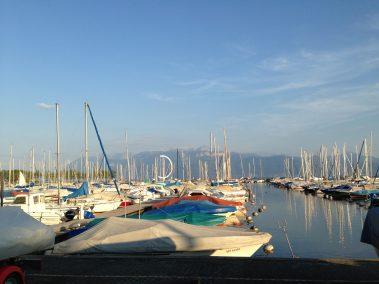 Lausanne Ouchy marina