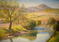 En pintura