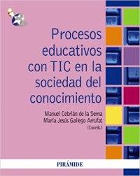 Libro Procesos educativos con tic en la sociedad del conocimiento.