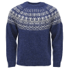 Traditional ICEWEAR Elis Icelandic Wool Sweater blue