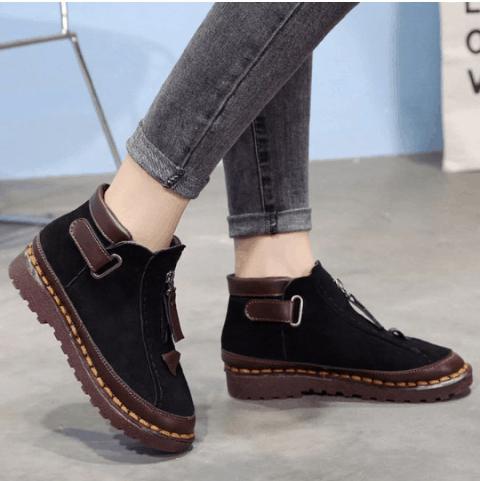 Image_Berrylook_casual_outdoor_short_boots_black_1