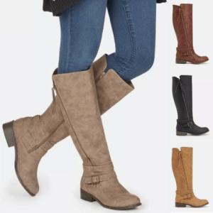 Image_Berrylook_outdoor_flat_boots_4_colors