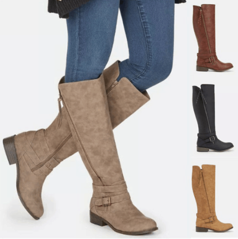 Image_Berrylook_outdoor_flat_boots_4_colors