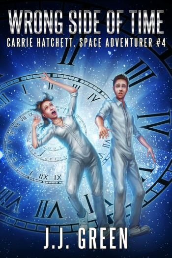 <cite>Carrie Hatchett, Space Adventurer Book 4</cite>