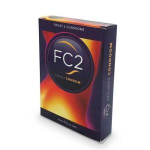 FC2 女性專用安全套 3片裝