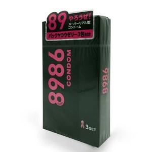 Jex 8986 後庭專用 (3片裝) 安全套