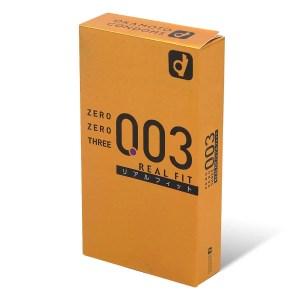 Okamoto 岡本 0.03 真・貼身 10 片裝安全套 (日本版)