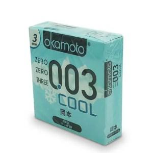 Okamoto 岡本 0.03 冰涼 3 片裝