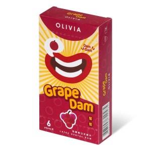 奧莉維亞 葡萄香味 口交膜