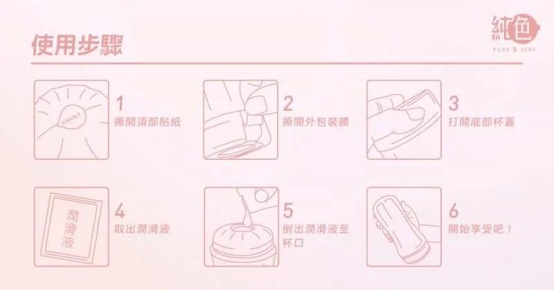 純愛杯 使用步驟