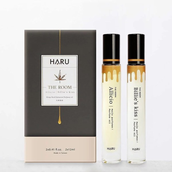 Haru The Room 大麻風味 雙瓶香水精油 大麻風味 雙瓶香水精油 9