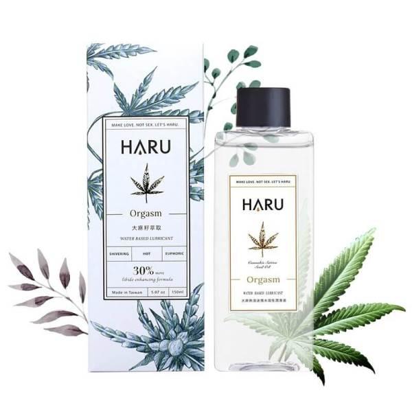 Haru Orgasm 大麻熱浪迷情熱感潤滑液 155mL (酥麻熱感)