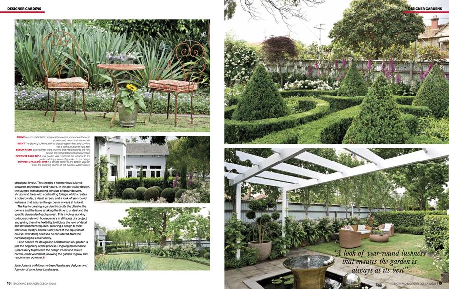 Media Backyard Garden Design Ideas Jane Jones Landscapes